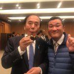 上田知事にも『美味しい!』
