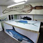 深海魚のカラー魚拓作品展示会 山本 龍香さんの写真